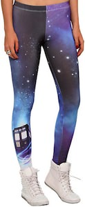 Doctor Who Tardis Leggings for Women