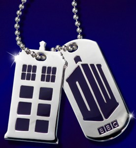 Doctor Who 50th Anniversary Dog Tags