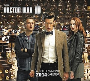 Doctor Who Wall Calendar 2014