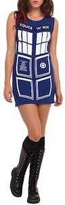 Doctor Who Tardis costume dress
