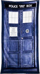 Doctor Who Tardis Towel