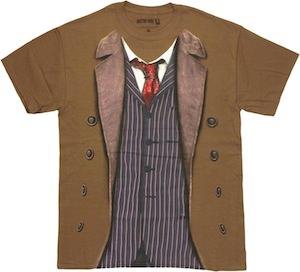 David Tennant Doctor Who costume t-shirt