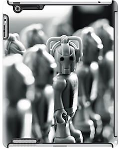 Doctor Who Cybermen iPad Case