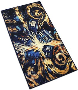 Doctor Who Tardis carpet