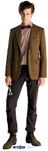 11th Doctor Cardboard cut out poster