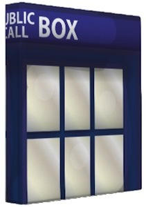 Doctor Who Binder of the Tardis