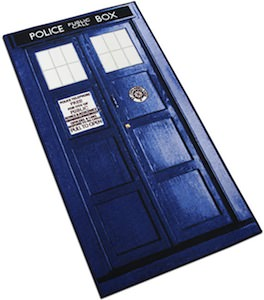 Doctor Who Tardis area rug