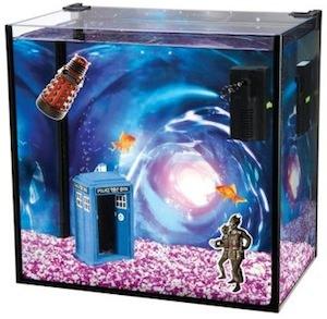 Doctor Who glass aquarium