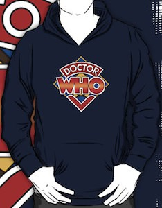 Doctor Who Classic Logo Hoodie
