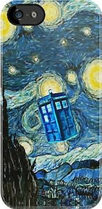 Tardis Starry Night iPhone 5s case
