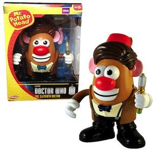 Doctor Who Mr. Potato Head Toy