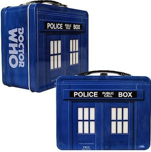 Dr. Who Tardis Metal Lunch Box