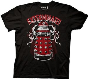 Dr. Who Red Dalek t-shirt
