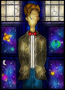 Dr Who The 11th Doctor Poster