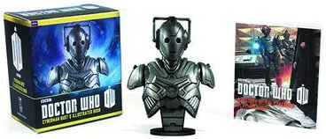 Dr. Who Cyberman Bust And Book