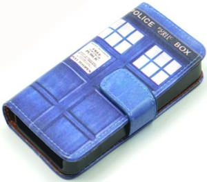 Doctor Who Tardis iPhone 4S Cover With Stand