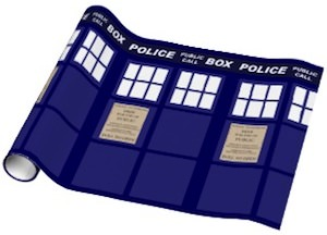 dr. who Tardis Gift Wrap