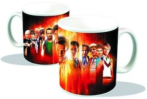 Doctor Who All The Doctors On One Mug