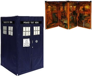 Doctor Who Tardis expandable tent