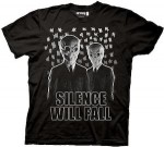 Shop Doctor Who Silence will fall t-shirt