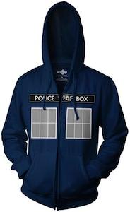 Doctor Who Tardis costume hoodie