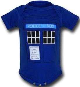 Dr. Who Tardis Infant bodysuit