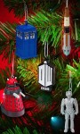 Shop Doctor Who Christmas ornament set