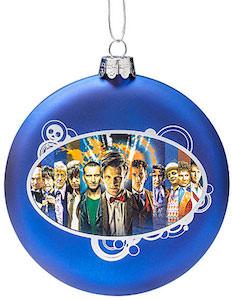 Doctor Who Glass Ball Christmas Ornament