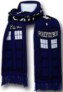 Shop for your Doctor Who Tardis Scarf