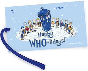 Doctor Who Gift Tags for Christmas