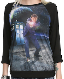 Doctor Who 10th Doctor Women's Sweater