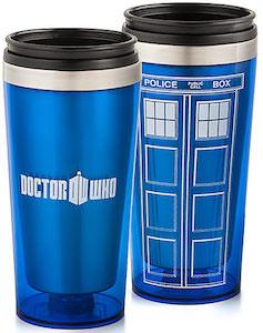 Dr. Who Tardis Travel Mug